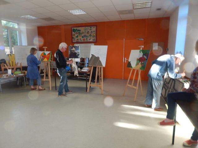 l'atelier de Louis-Jean Gal - les vendredis de 18 à 20h- salle de réunion à côté de la médiathèque