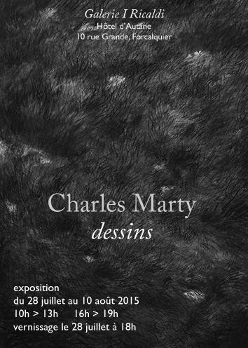 Charles Marty, dessins